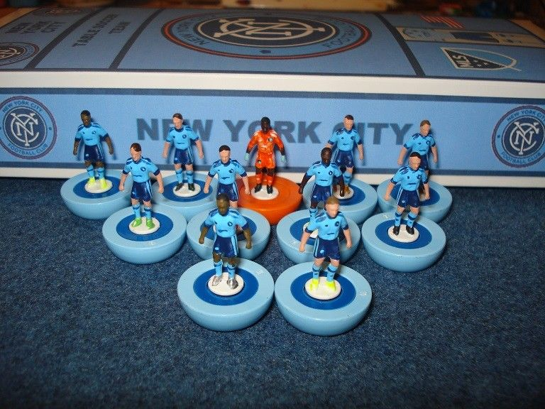 New York City FC's Subbuteo secret revealed during Pep Guardiola's visit