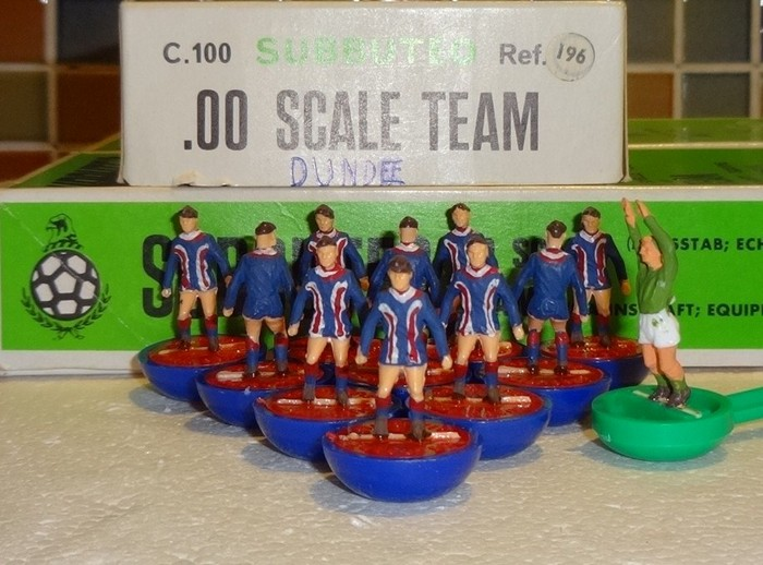 The best teams in the Scottish Premiership ranked by Subbuteo kit