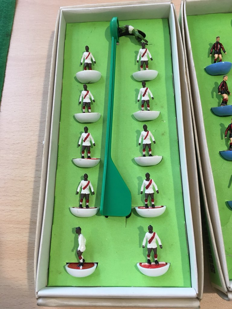 The lovely moment Subbuteo was used to help Alzheimer's sufferers