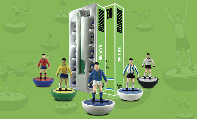 Subbuteo La Leggenda Platinum Edition launched for historic international heavyweight teams