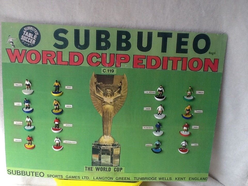 Incredible one-off 1970 Subbuteo Savoy Hotel display is listed for sale