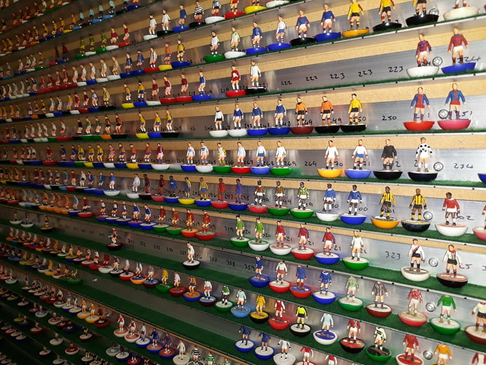 This collection of 2,100 Subbuteo players is something special