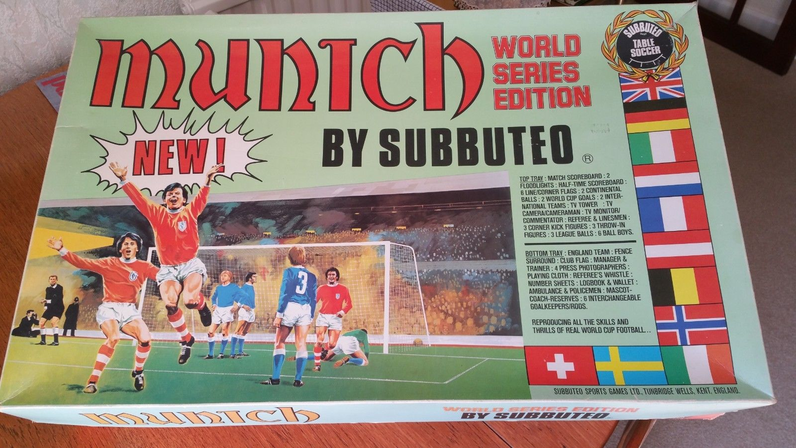 Subbuteo's rarest box set has appeared in an antiques shop in London