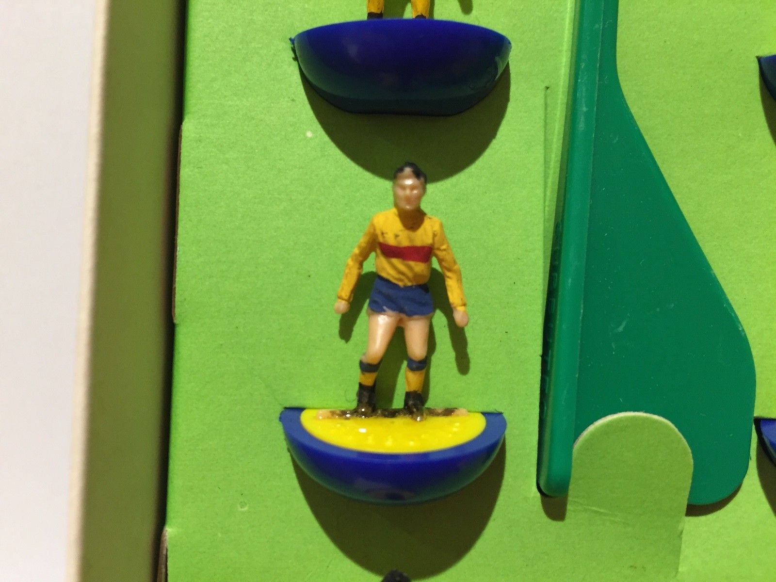 The mystery of the Catalonia-coloured FC Subbuteo team