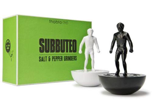 Six random Subbuteo gifts