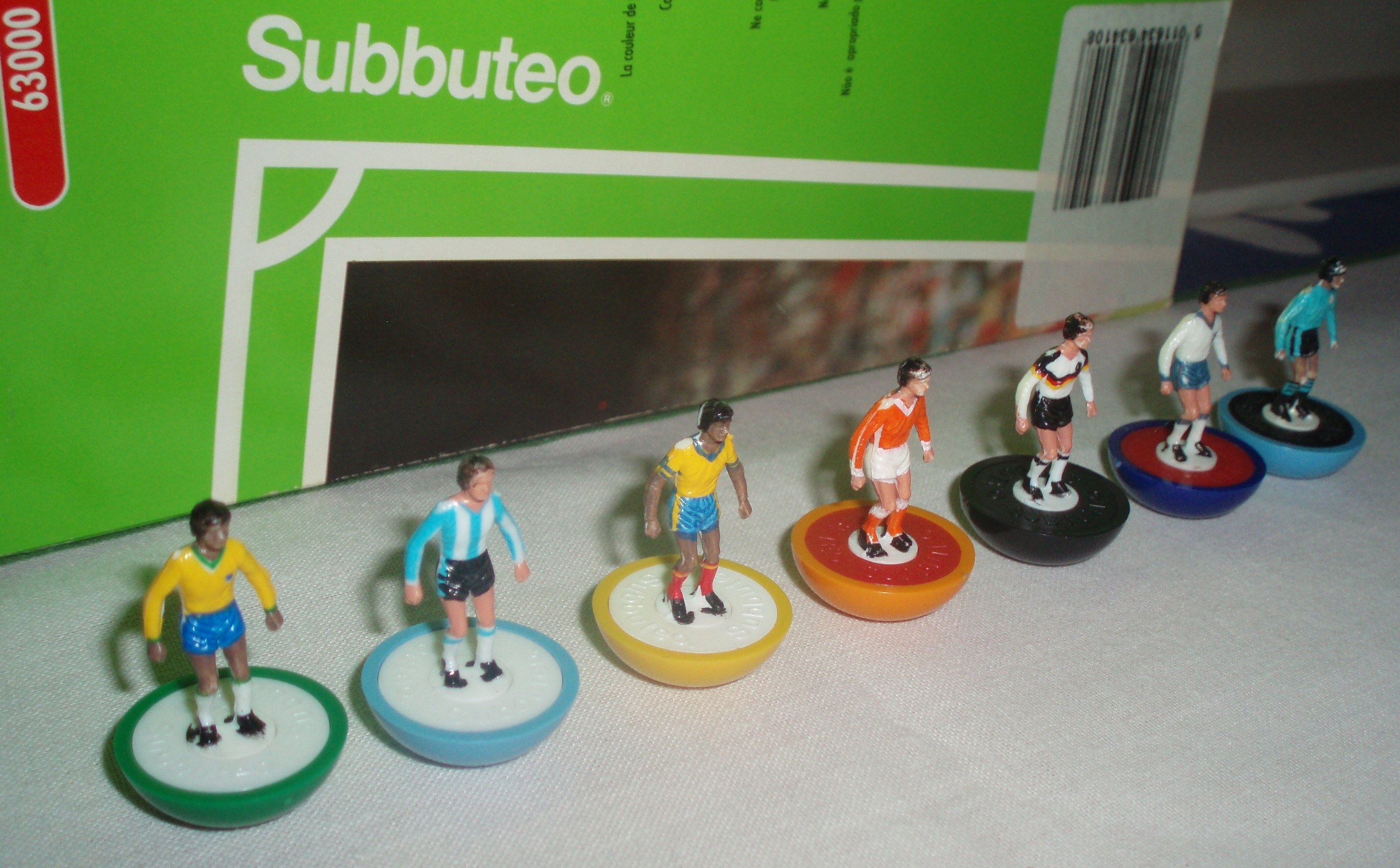The Subbuteo teams whose prices have increased by nearly 50% in just six months