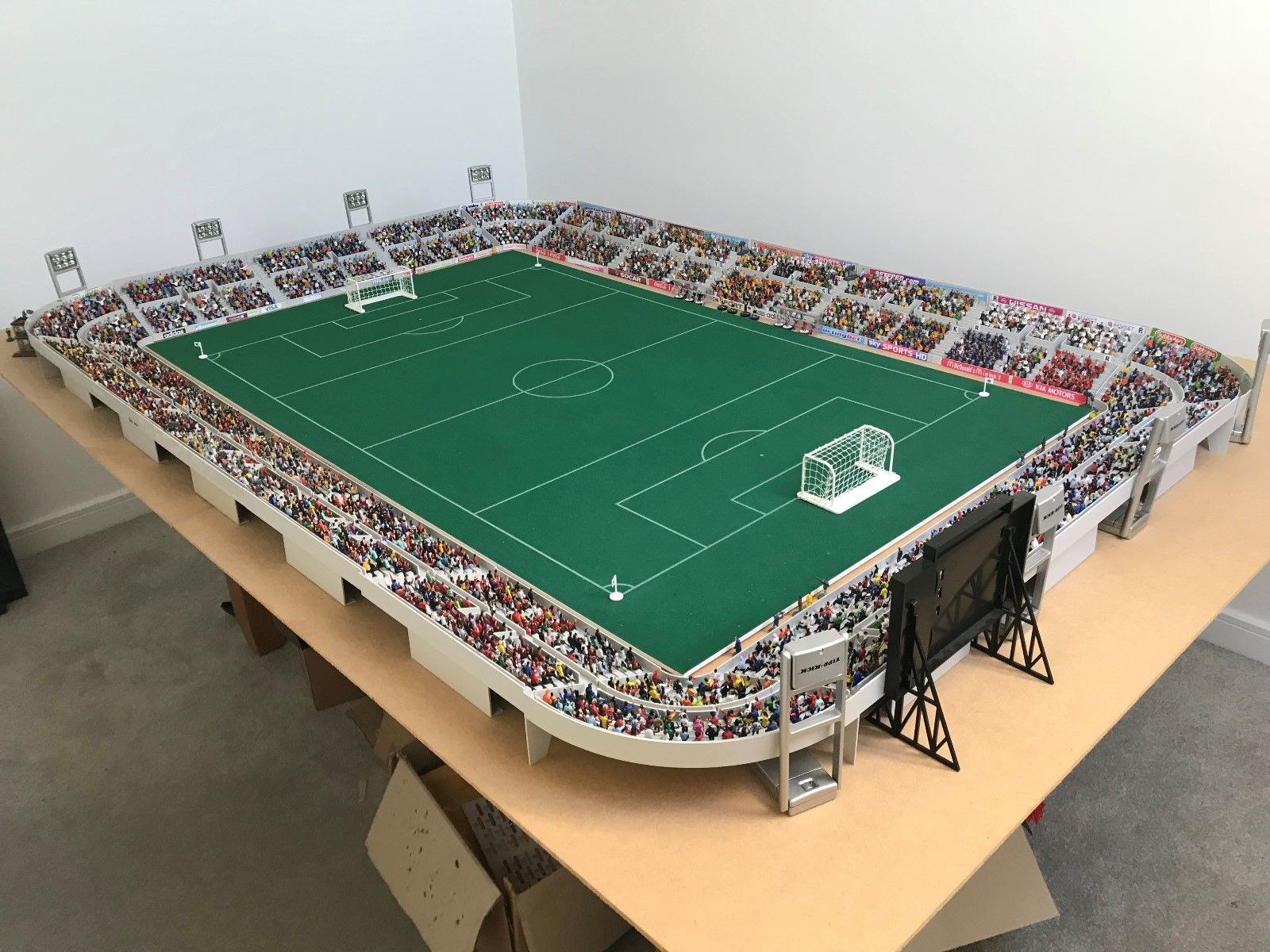 A full Subbuteo stadium has appeared on eBay – but it's not cheap