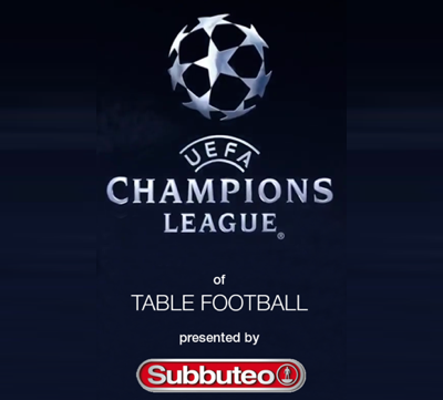 Official UEFA Champions League competition for Subbuteo was planned