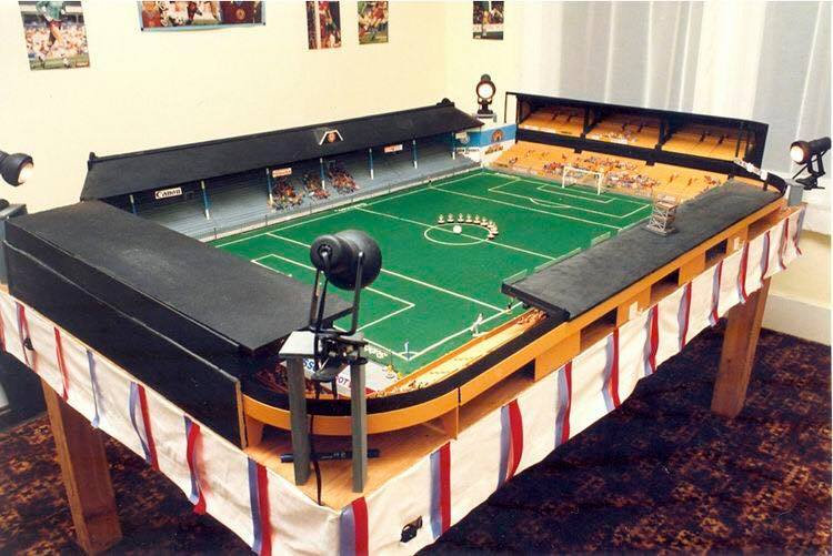 Villa Park has been recreated in Subbuteo and it looks fantastic