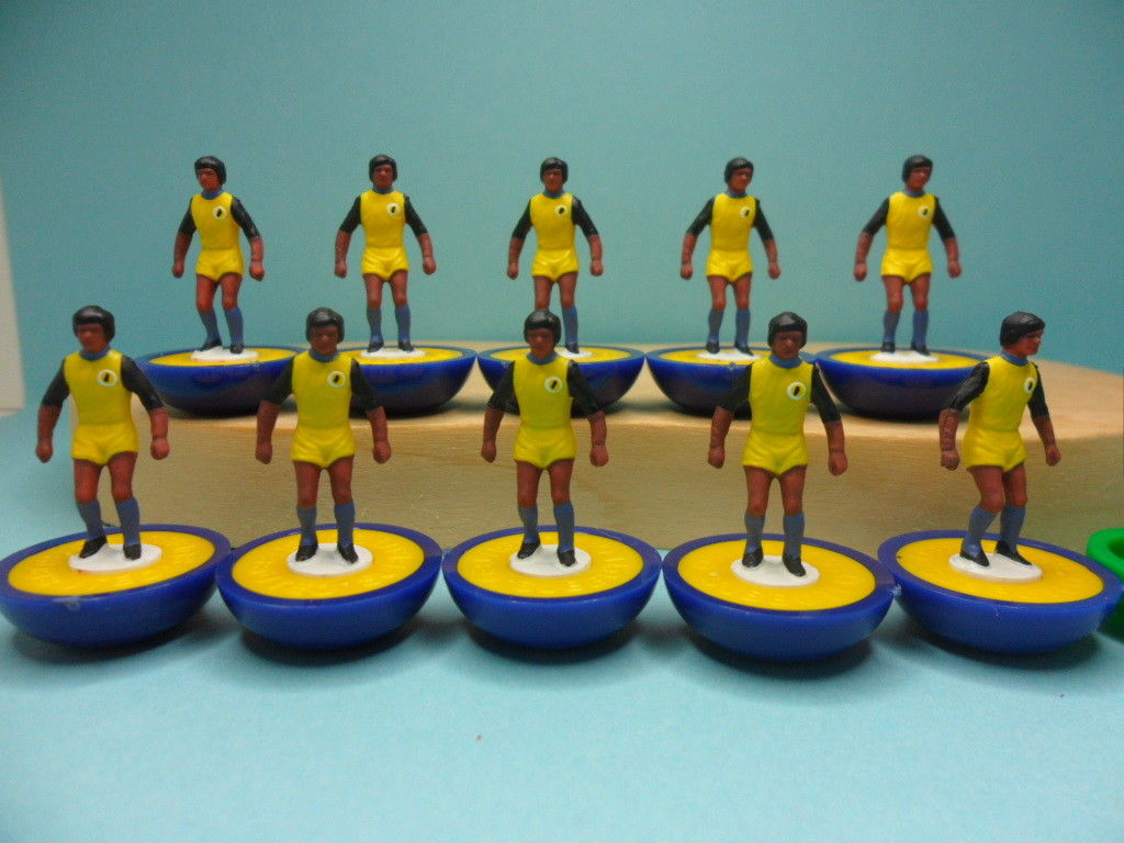 Incredible one-of-a-kind Subbuteo teams for Qatar 2022 are being sold on eBay