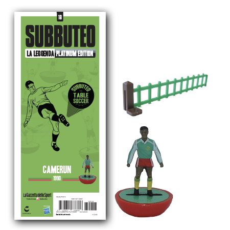 First look at the new Cameroon 1990 Subbuteo team – including Roger Milla