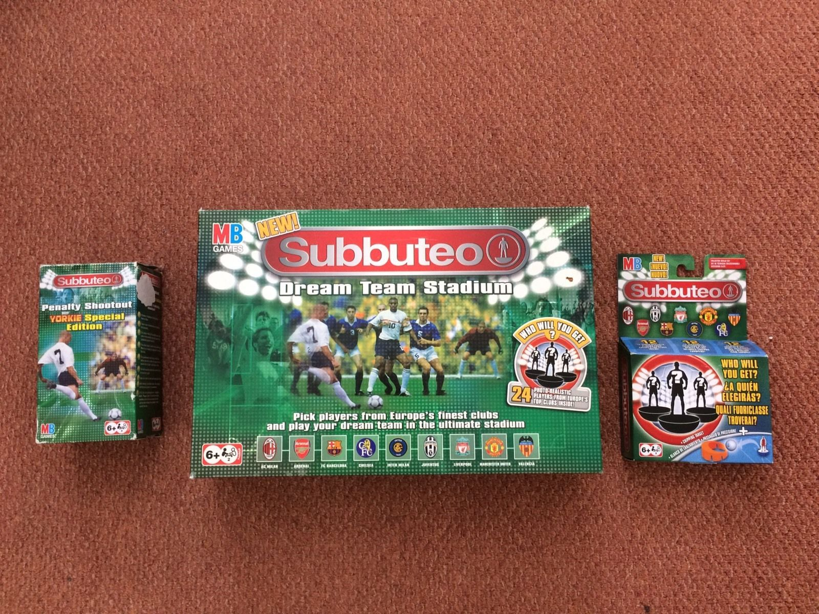 The worst Subbuteo eBay job lots including a £10 set listed for £129
