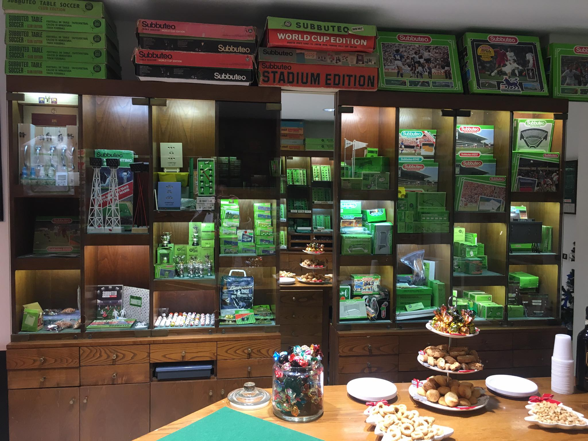 A Subbuteo shop has opened and it looks amazing