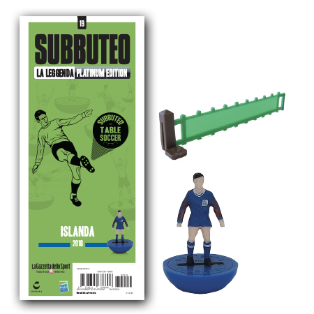 First look at the new Iceland 2018 World Cup Subbuteo team