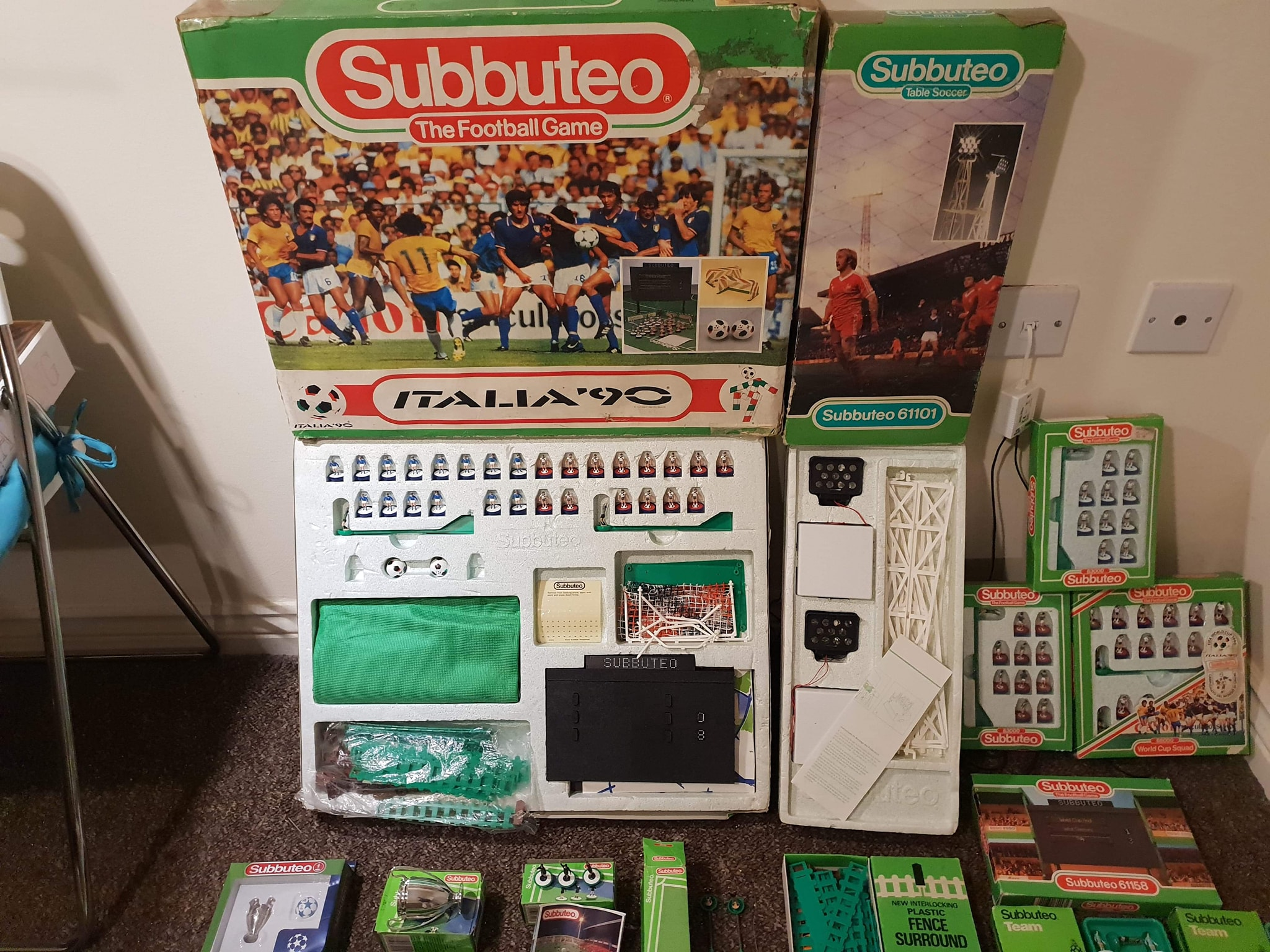 Man finds amazing Subbuteo collection in parent's loft – and it's all for sale