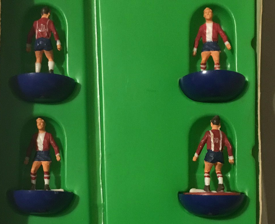 Subbuteo fan gets a shock when he tries to identify ultra-rare team