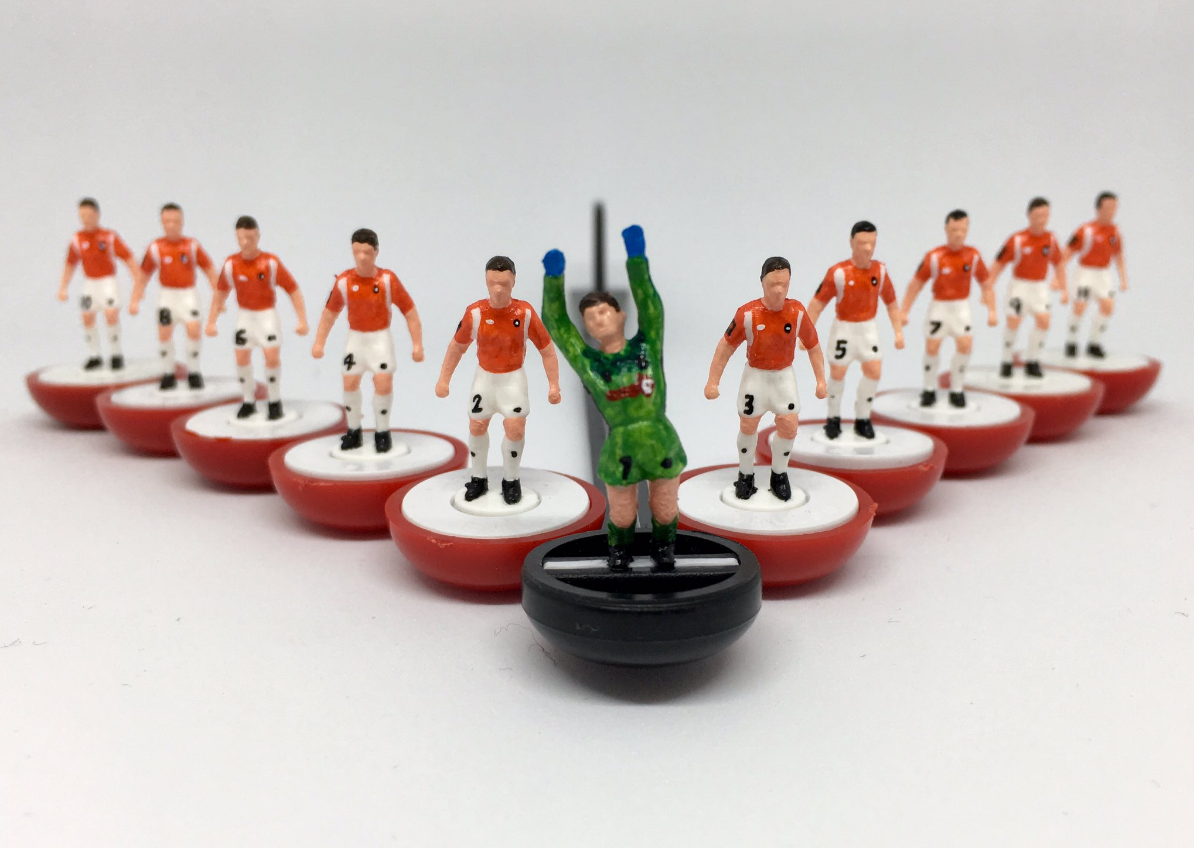 Salford City has finally got its own Subbuteo team