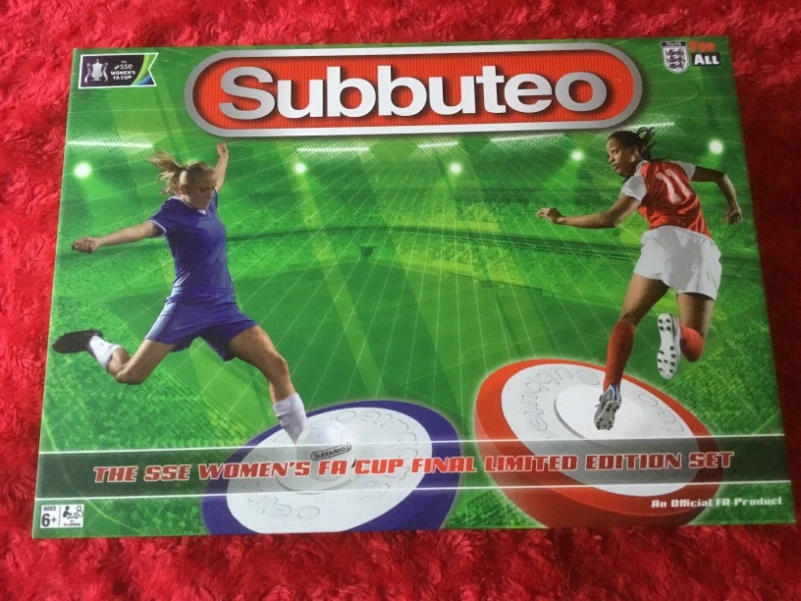 Another Women's football Subbuteo set is up for sale – but it's an own goal for Hasbro
