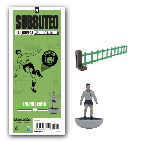 First look at the new England 2018 Subbuteo team