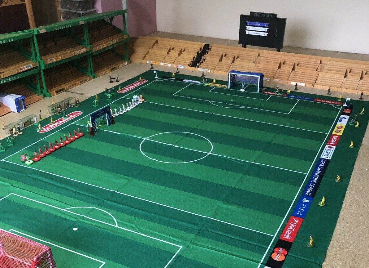 Subbuteo fan lists entire stadium with fans on eBay