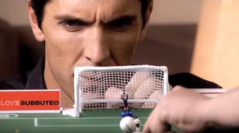 Gianluigi Buffon loves Borussia Monchengladbach because of Subbuteo