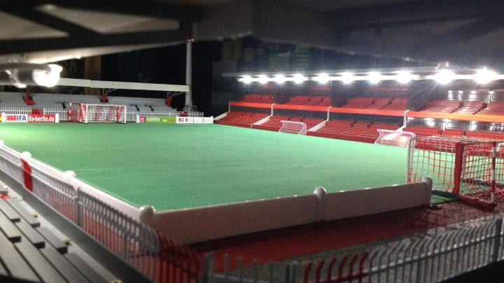 How one fan built this incredible atmospheric Subbuteo stadium