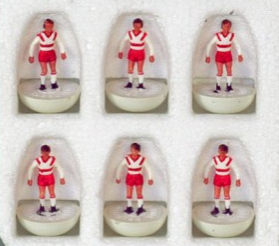 A 'ghost' Subbuteo team that was never actually sold has been found