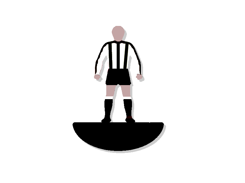 Subbuteo ref 008 - Newcastle