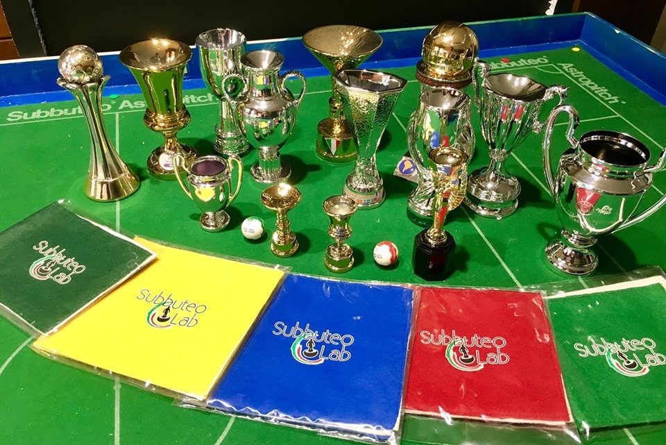 New range of Subbuteo trophies revealed and they include the Champions League