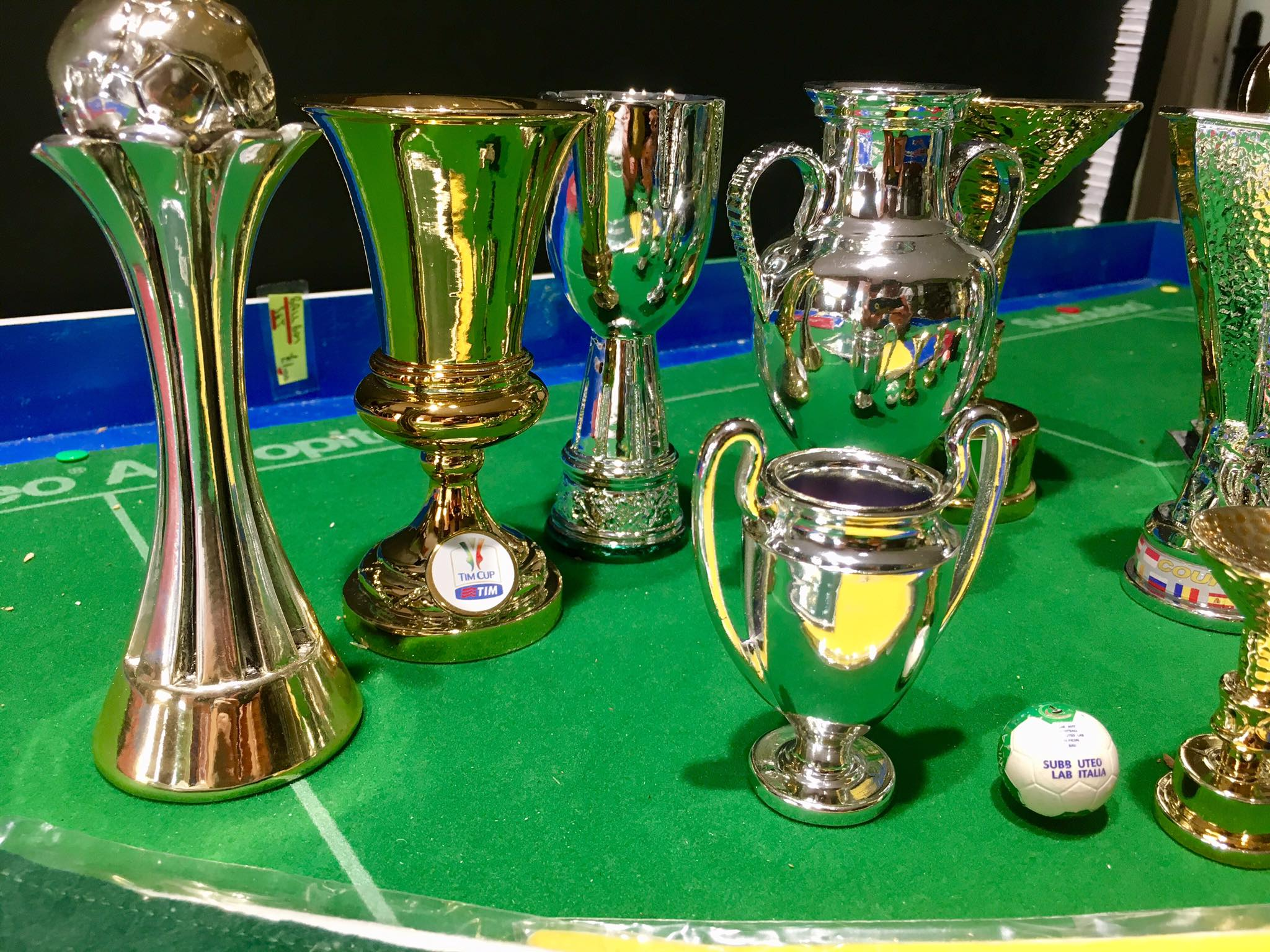 New Range Of Subbuteo Trophies Revealed And They Include The Champions League Subbuteo Online