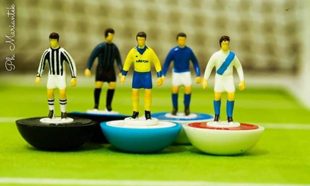 New limited edition Subbuteo-style sets are on sale and they are beautiful