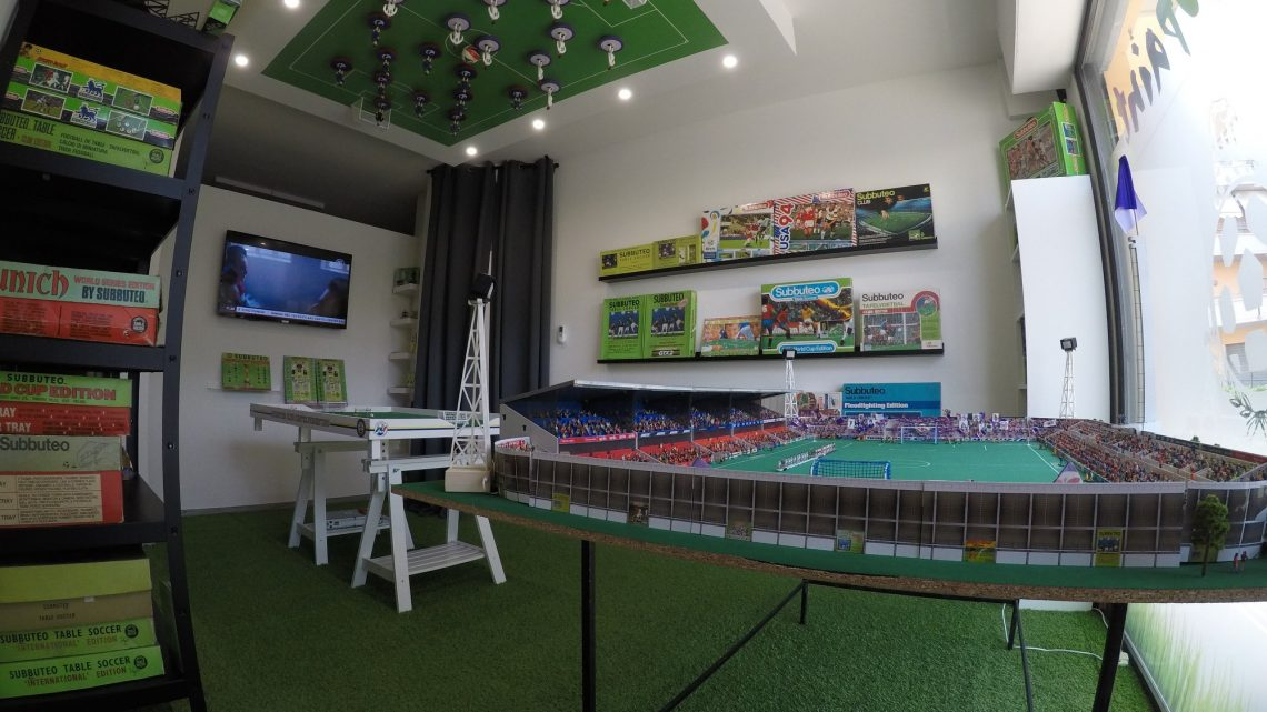 This incredible Subbuteo room will make you very jealous