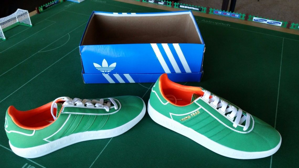 Adidas Trimm Trab Subbuteo came with a very special extra