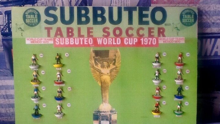 Ebayer is selling a fake Subbuteo shop display for a massive price