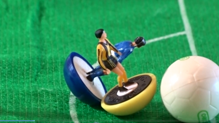 Nike's famous Parklife advert recreated in Subbuteo