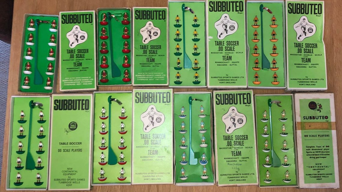 Man finds haul of rare Subbuteo teams in his shed – and they're for sale