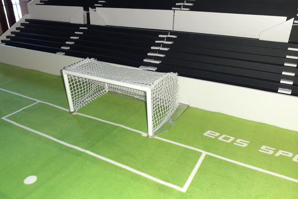 You can now buy beautiful 1960s Bernabeu Subbuteo goals