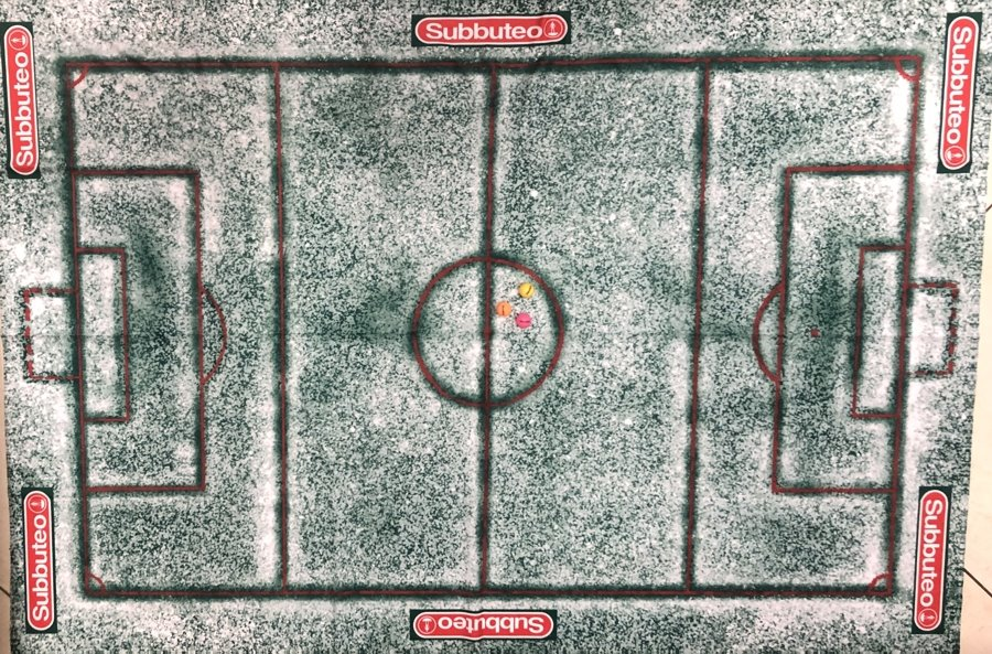 The Subbuteo snowy pitch is now on sale after website glitch