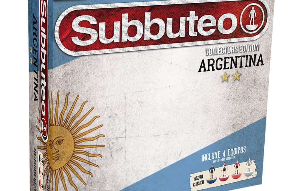 New Argentina and Brazil collector's edition Subbuteo sets revealed