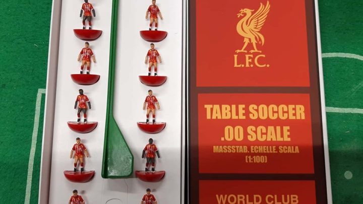Liverpool FC's World Club Champions are immortalised in Subbuteo
