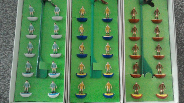 For sale: Collection of over 20 Subbuteo HW teams