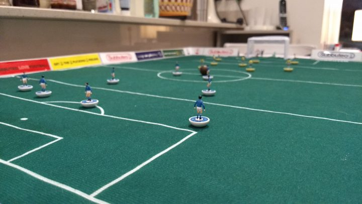 Subbuteo Cup 2020: The first stadium revealed