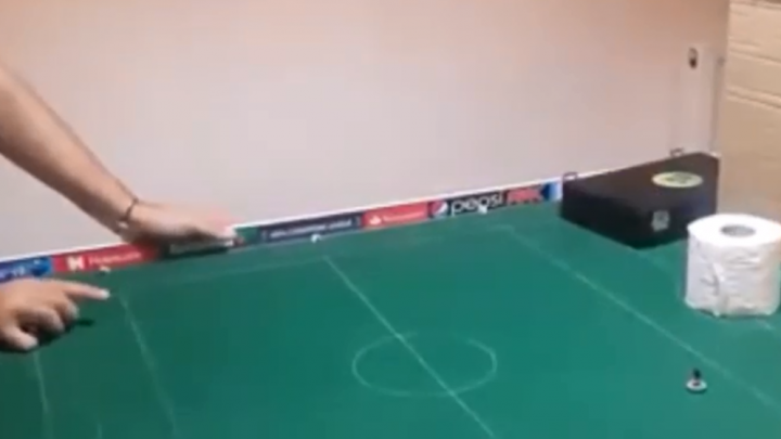 Watch four minutes of amazing Subbuteo trick shots
