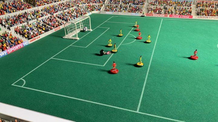 The Subbuteo Cup 2020 second and third round draw