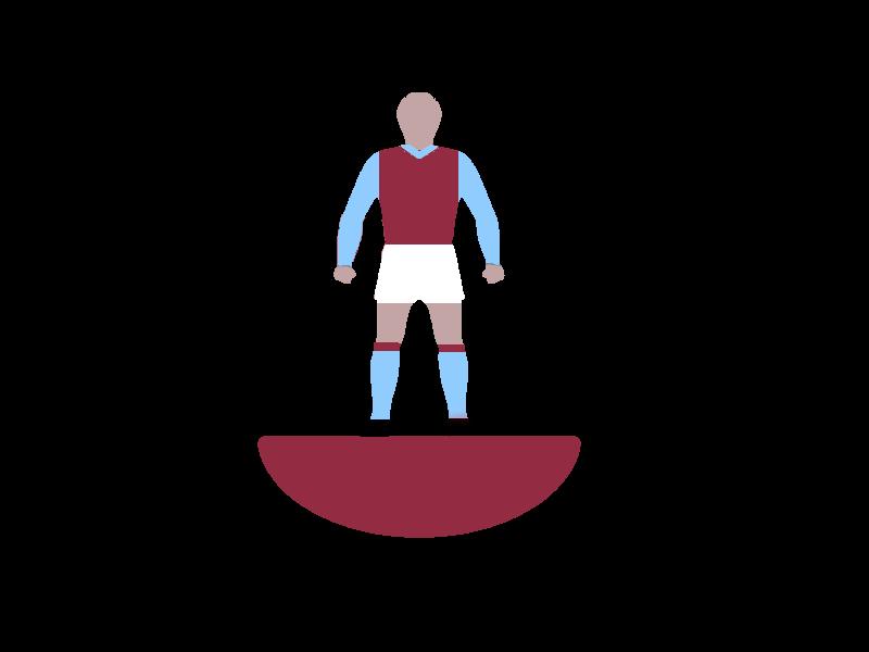 Subbuteo Ref 007 Aston Villa