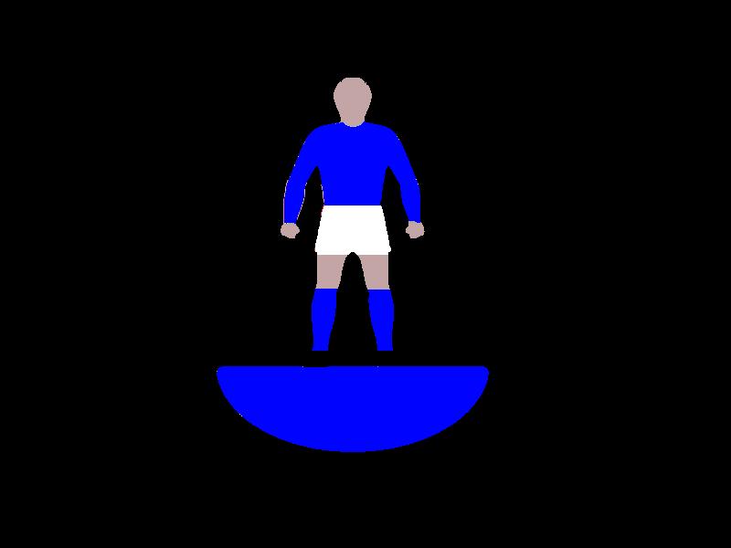 Subbuteo LW ref 002 Everton