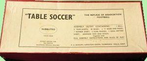 The 1947 Subbuteo box set